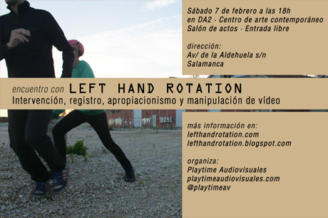 Encuentro con Left Hand rotation